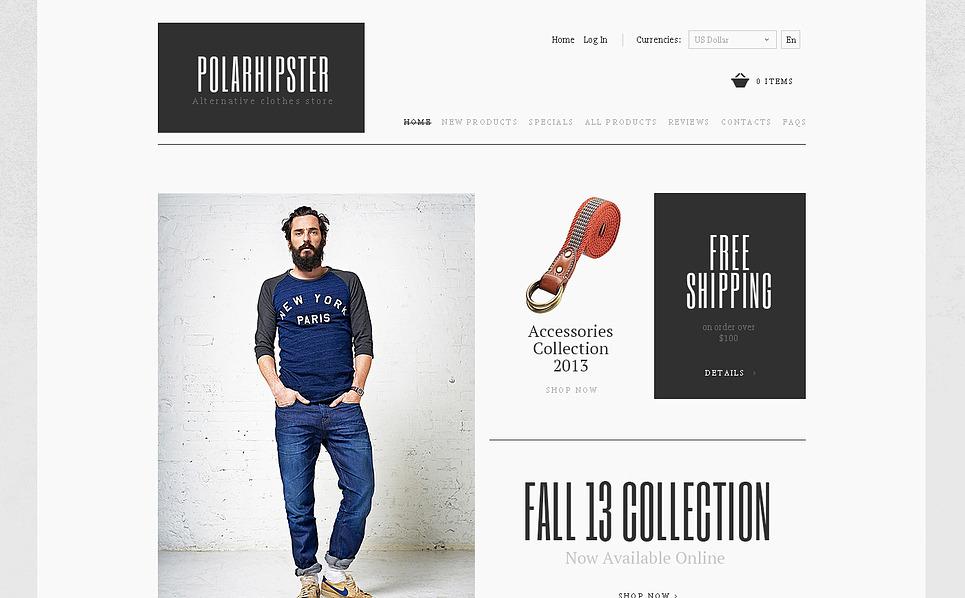 Template ZenCart  #47479 per Un Sito di Fashion Store New Screenshots BIG