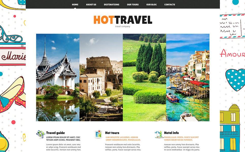 Responsywny szablon Joomla #47489 na temat: biuro podróży i turystyki New Screenshots BIG