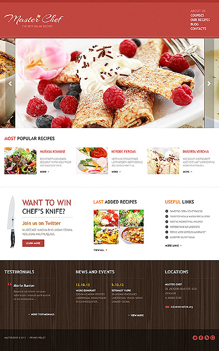 Joomla Theme/Template 47495 Main Page Screenshot