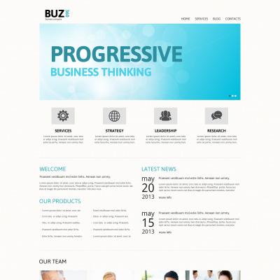 business report template joomla responsive lares