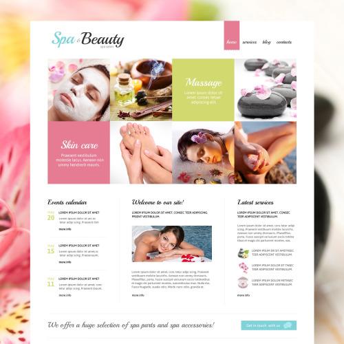 Spa Beauty - Responsive Joomla! Template