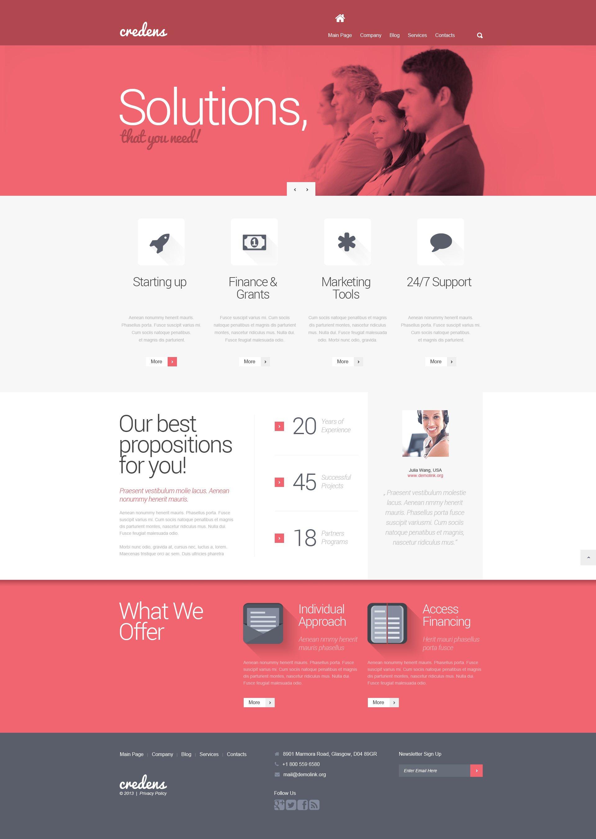 Business for Bold Start WordPress Theme - screenshot