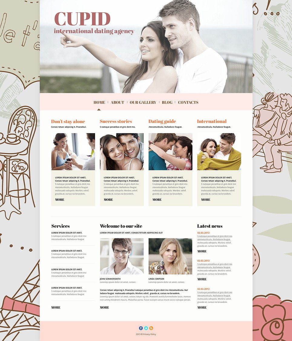 dating site bootstrap template Dating templates and dating site templates (66)  dating agency bootstrap joomla template #55371 $75  the template was developed for dating agencies, family, society and culture websites responsive view details  live demo couple responsive joomla theme #55094 $75.