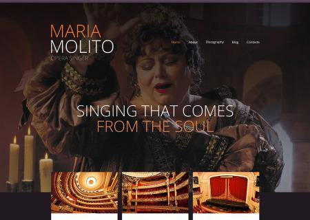 Elegant Opera Singer