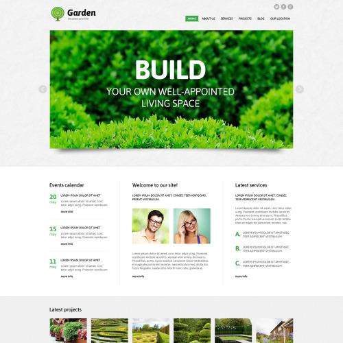 Build - Responsive Joomla! Template