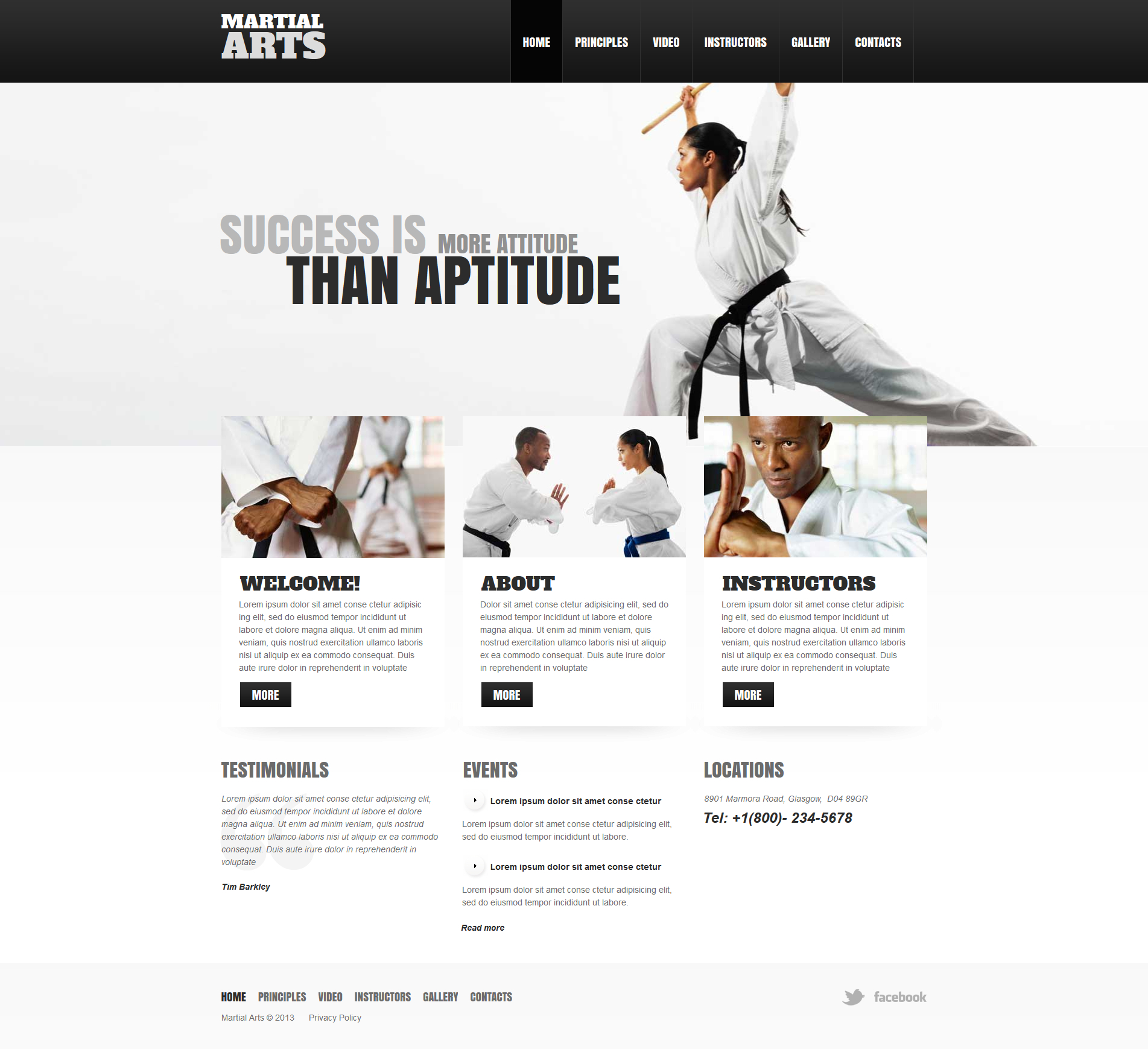 Martial arts moto cms html template 47474 martial arts moto cms html template toneelgroepblik Image collections