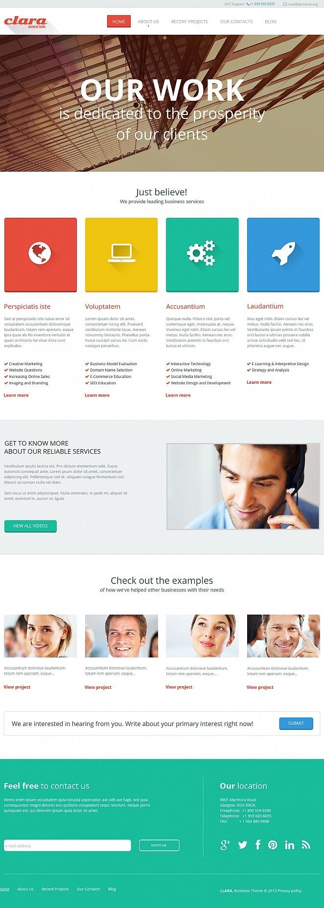 Merchant Services Moto CMS HTML Template New Screenshots BIG