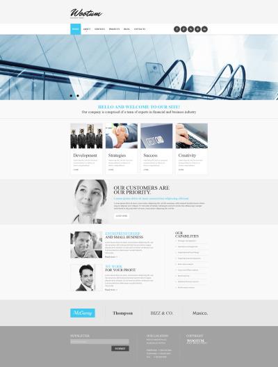 Moto CMS HTML Vorlage für Outsourcing Unternehmen