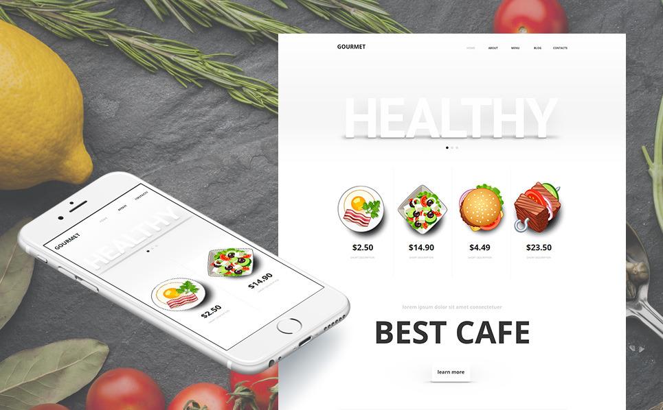 MotoCMS HTML шаблон №47461 на тему магазин еды New Screenshots BIG