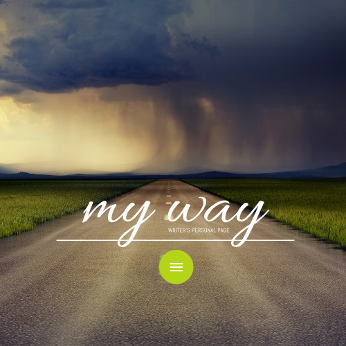 My Way - Website Template based on Bootstrap