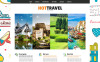 Plantilla Joomla para Sitio de Agencias de viajes New Screenshots BIG
