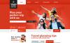Plantilla Web Responsive para Sitio de  para Sitios de Guías de viajes New Screenshots BIG