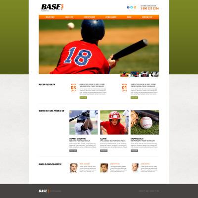 Joomla Vorlage #51979 für Baseball
