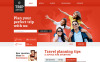 Responsive Seyahat Rehberi  Web Sitesi Şablonu New Screenshots BIG