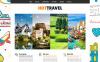 Reszponzív Utazási iroda témakörű  Joomla sablon New Screenshots BIG
