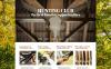 Reszponzív Vadászat témakörű  Joomla sablon New Screenshots BIG