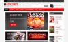 Thème OpenCart adaptatif  pour site de nouvelles New Screenshots BIG