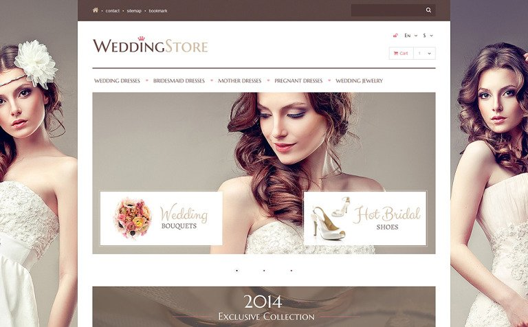 Wedding Store PrestaShop Theme