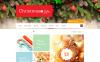 ZenCart шаблон №47453 на тему рождество New Screenshots BIG