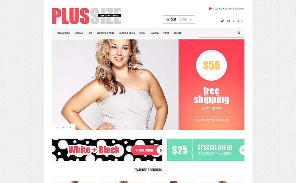 Responzivní PrestaShop motiv na téma Módní obchod New Screenshots BIG