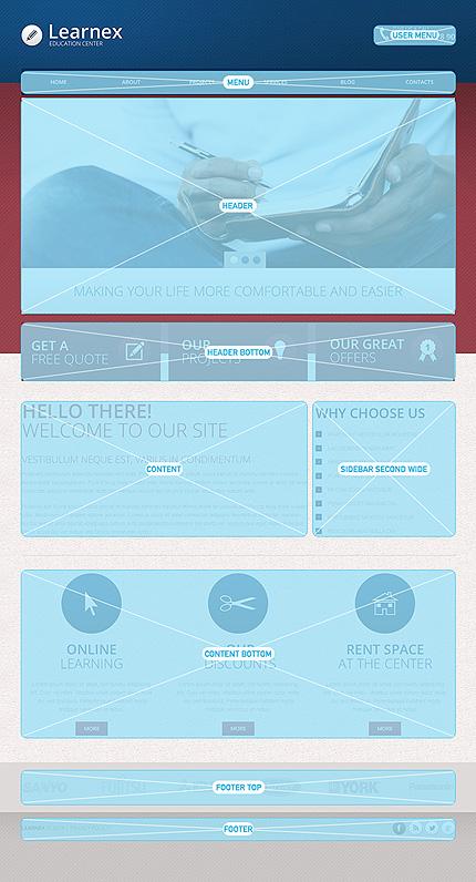Drupal Template 47503 Main Page Screenshot