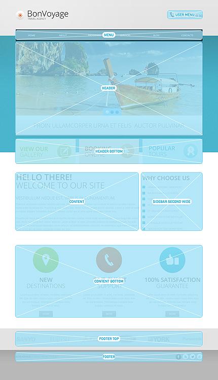Drupal Template 47505 Main Page Screenshot
