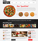 Cafe & Restaurant Joomla  Template 47508