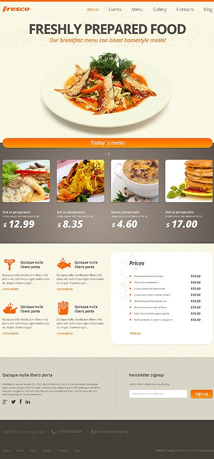 Joomla Theme/Template 47511 Main Page Screenshot