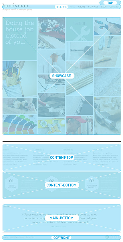 Joomla Theme/Template 47512 Main Page Screenshot