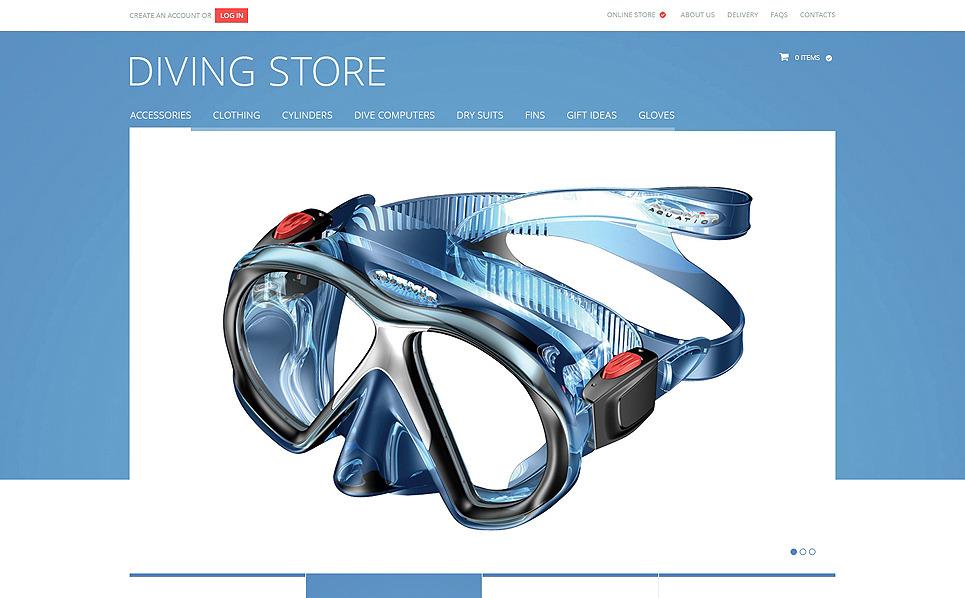 Plantilla VirtueMart #47515 para Sitio de Buceo New Screenshots BIG