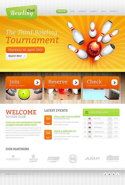 Drupal Template 47518 Main Page Screenshot