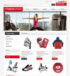 Sport osCommerce  Template 47520