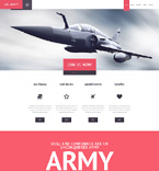 Military WordPress Template 47525