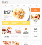 Cafe & Restaurant WordPress Template 47527