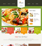 Food & Drink WordPress Template 47529