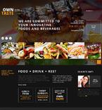 Cafe & Restaurant WordPress Template 47533