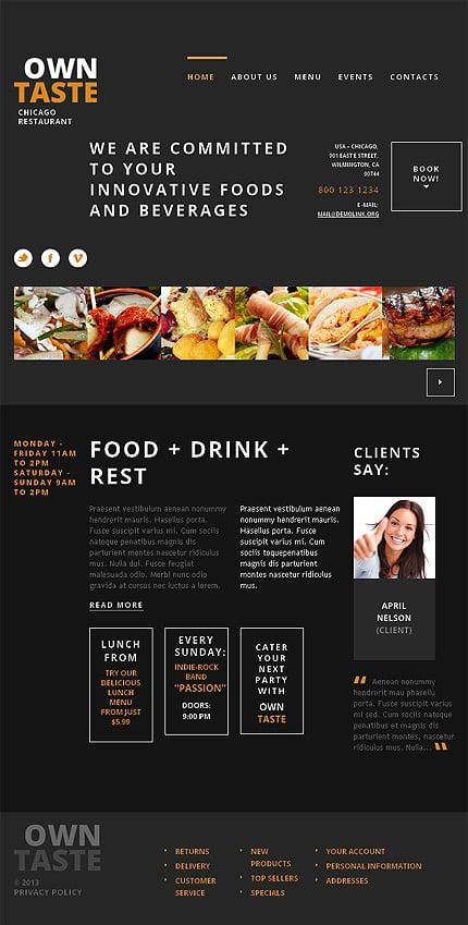 WordPress Theme/Template 47533 Main Page Screenshot