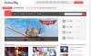 Responsivt WordPress-tema för media New Screenshots BIG