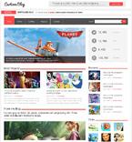 Media WordPress Template 47534