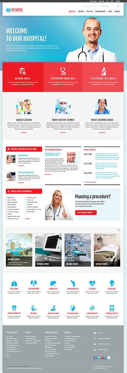 WordPress Theme/Template 47536 Main Page Screenshot
