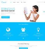 Communications WordPress Template 47537