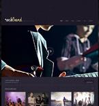 Music WordPress Template 47539