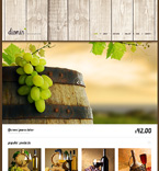 Food & Drink WordPress Template 47541