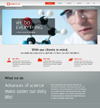 Science WordPress Template 47543