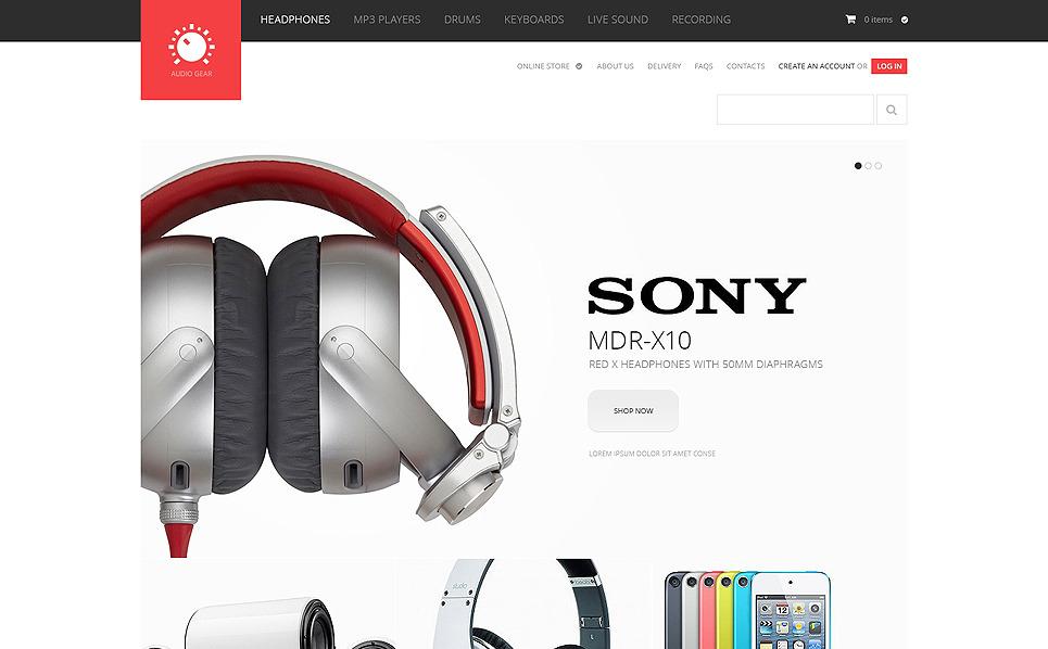 VirtueMart Template over Audio Winkel  New Screenshots BIG