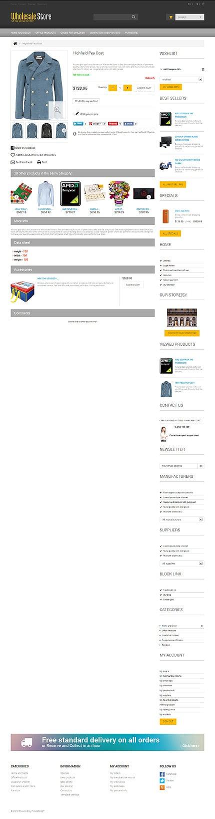 ADOBE Photoshop Template 47551 Home Page Screenshot