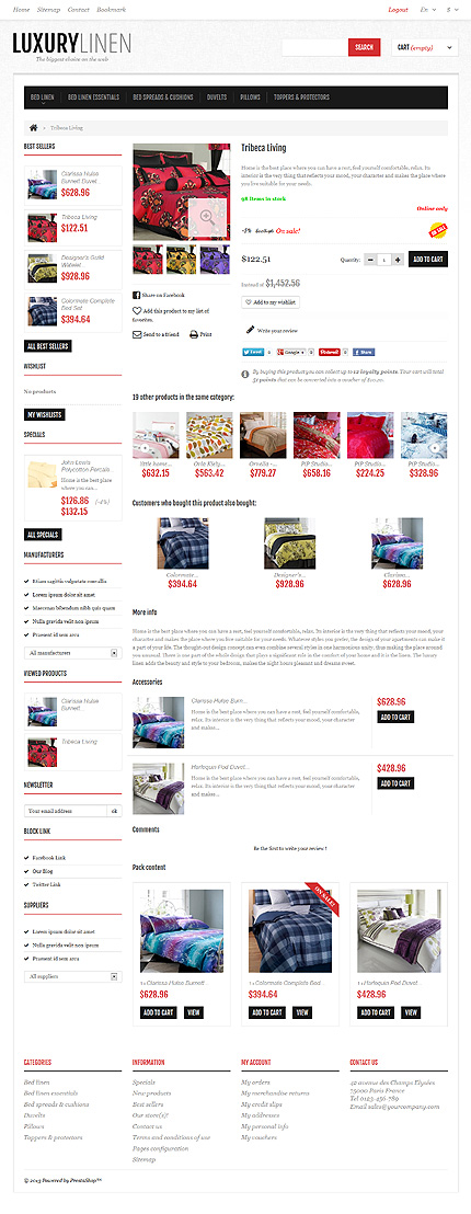 ADOBE Photoshop Template 47552 Home Page Screenshot