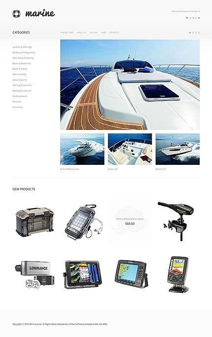 ADOBE Photoshop Template 47555 Home Page Screenshot
