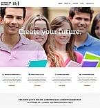 Education Moto CMS HTML  Template 47565