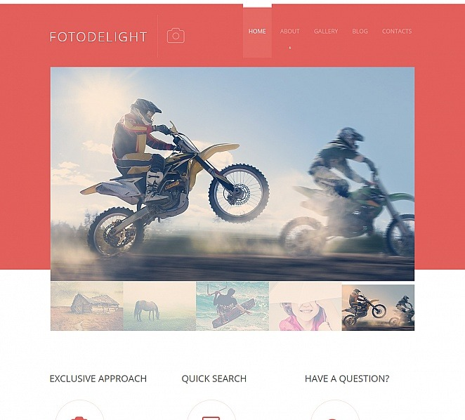 Premium Moto CMS HTML Template over Fotografie New Screenshots BIG